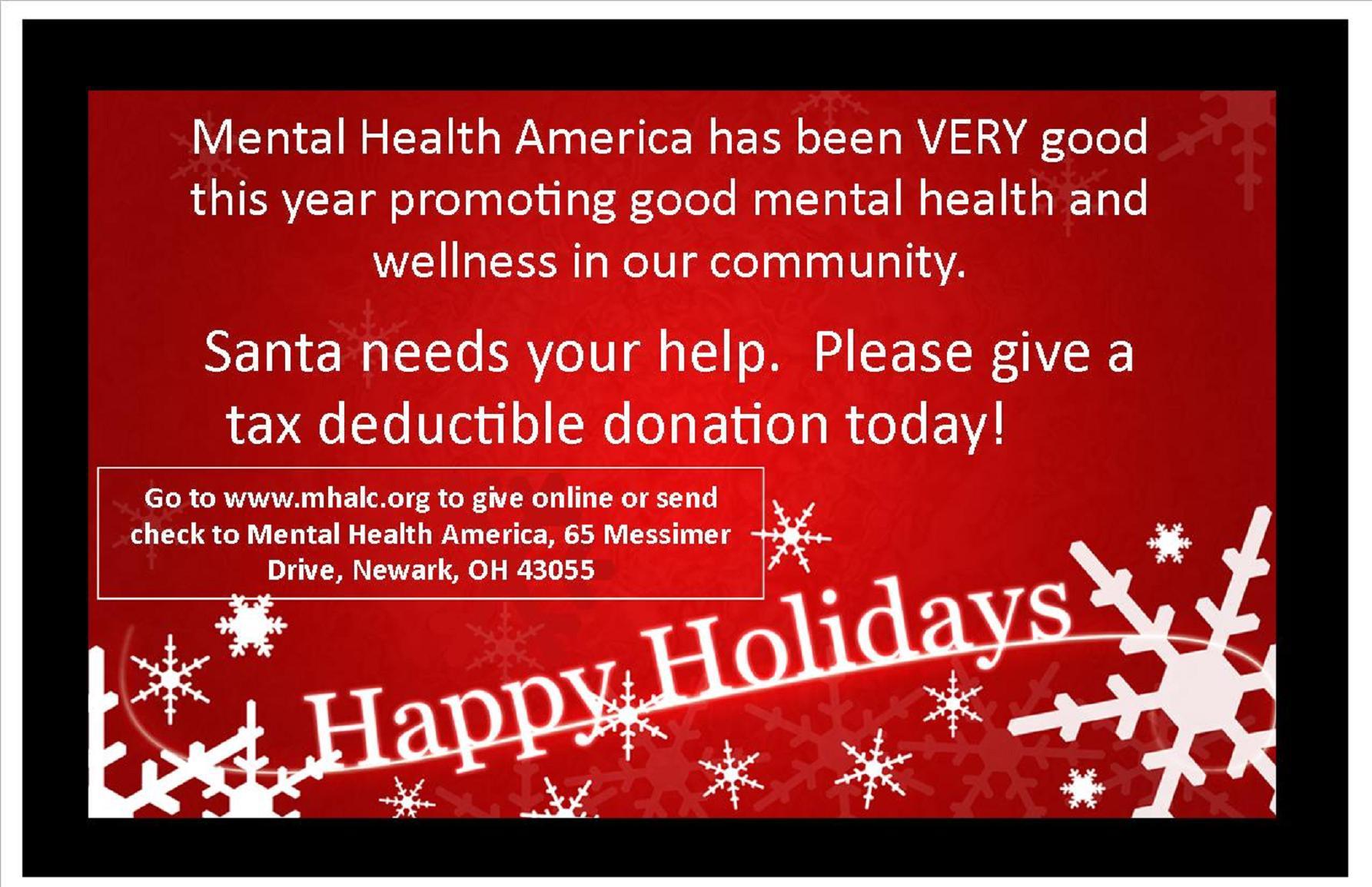 FACEBOOK POST - Santa Needs Your Help